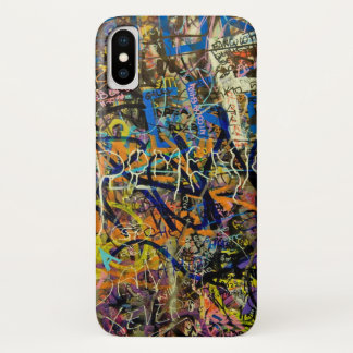 Capa Para iPhone X Fundo dos grafites