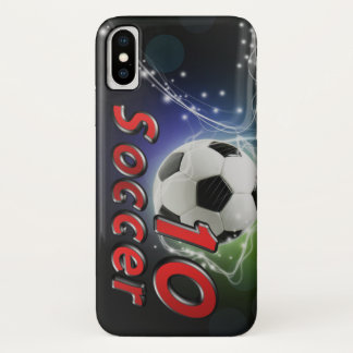 Capa Para iPhone X Futebol 10