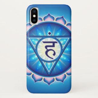 Capa Para iPhone X Garganta Chakra