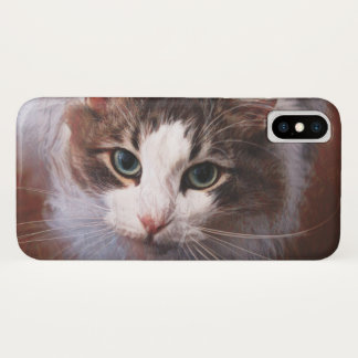 Capa Para iPhone X Gato