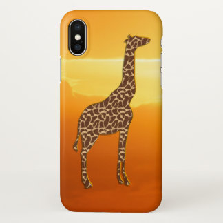 Capa Para iPhone X Girafa 2