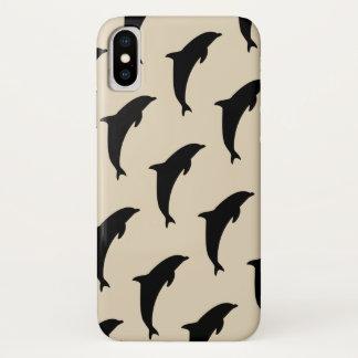 Capa Para iPhone X Golfinhos