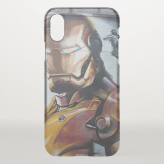 Capa Para iPhone X Grafites Houston de IronMan