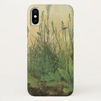 Capa Para iPhone X Grande parte de relvado por Albrecht Durer, arte