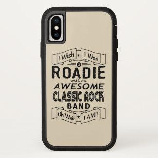 Capa Para iPhone X Grupo de rock clássico impressionante de ROADIE