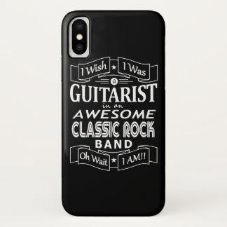 Capa Para iPhone X Grupo de rock clássico impressionante do