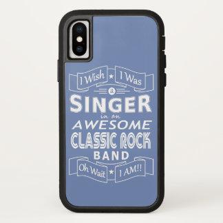 Capa Para iPhone X Grupo de rock clássico impressionante do CANTOR