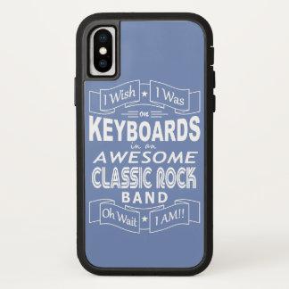 Capa Para iPhone X Grupo de rock clássico impressionante dos TECLADOS