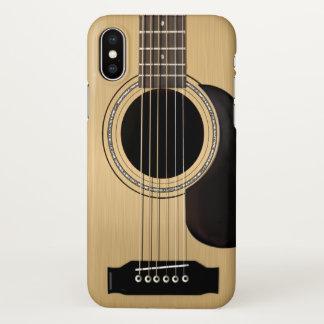 Capa Para iPhone X Guitarra acústica