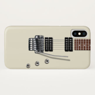 Capa Para iPhone X Guitarra elétrica