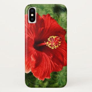 Capa Para iPhone X Hibiscus