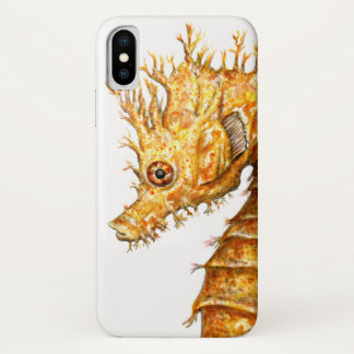 Capa Para iPhone X Hipocampo do hipocampo do cavalo de mar