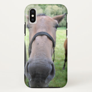 Capa Para iPhone X Horsehead 004