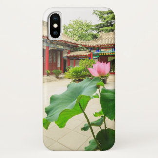 Capa Para iPhone X Interior do pagode de China