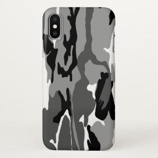 Capa Para iPhone X Inverno ártico Camo