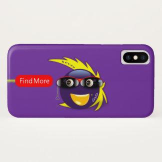 Capa Para iPhone X iPhone roxo X do caso da força de Ino AI (Mashies
