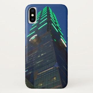 Capa Para iPhone X iPhone X de Taipei 101 Apple, mal lá PhoneCase