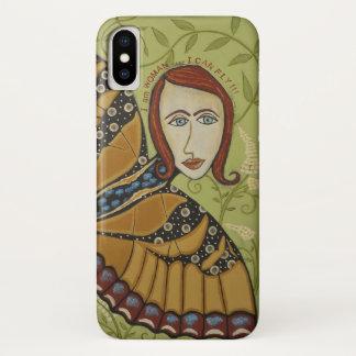 Capa Para iPhone X iPhone X - Eu sou mulher/borboleta