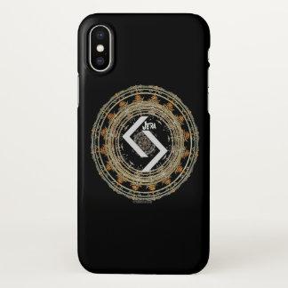 Capa Para iPhone X ☼ JERA - Rune do ☼ do tempo