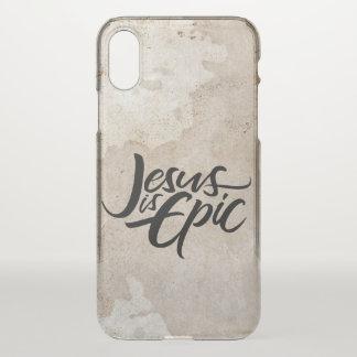 Capa Para iPhone X Jesus é cristo cristão religioso da rotulação