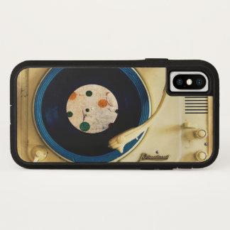 Capa Para iPhone X Jogador gravado do vintage