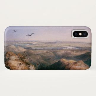 Capa Para iPhone X Junção do Yellowstone e do Missouri por Bodmer
