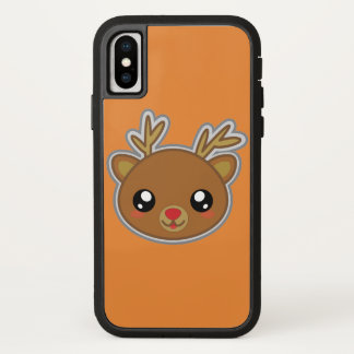 Capa Para iPhone X Kawaii, divertimento e caso engraçado de Iphone X