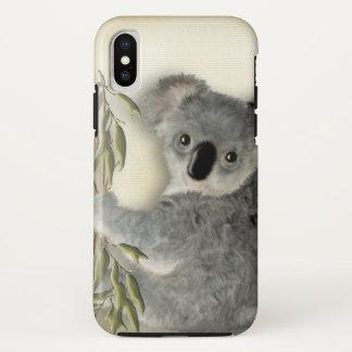 Capa Para iPhone X Koala bonito do bebê