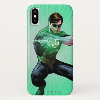 Capa Para iPhone X Lanterna verde & anel de incandescência