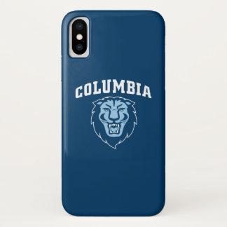 Capa Para iPhone X Leões da Universidade de Columbia |