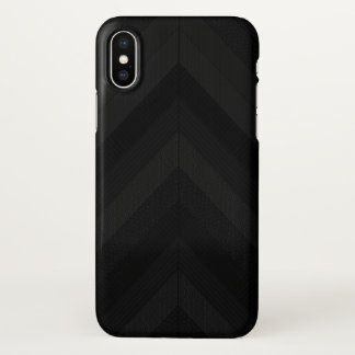 Capa Para iPhone X Listras escuras Textured