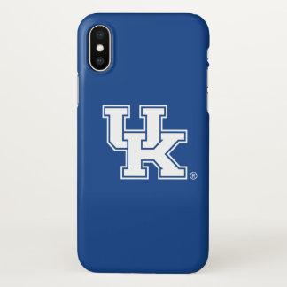Capa Para iPhone X Logotipo BRITÂNICO de Kentucky | Kentucky