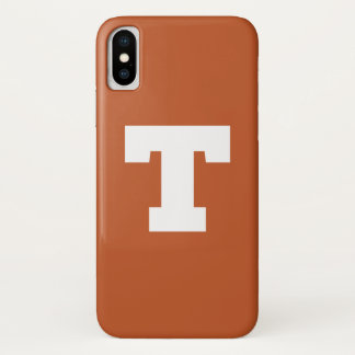 Capa Para iPhone X Logotipo da Universidade do Texas | Texas