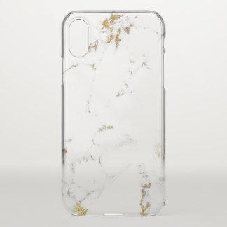 Capa Para iPhone X Lux italiano do minimalismo do abstrato de mármore