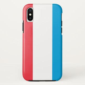 Capa Para iPhone X Luxembourg embandeira