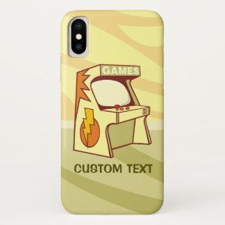 Capa Para iPhone X Máquina da arcada
