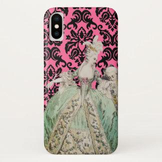 Capa Para iPhone X Marie Antoinette (mais opções) -
