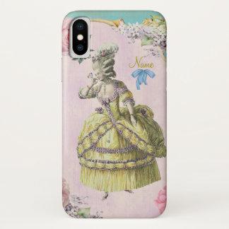 Capa Para iPhone X Marie bonito Antoinette (mais opções) -