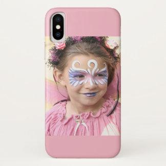 Capa Para iPhone X Menina feericamente Rennassainse Faire