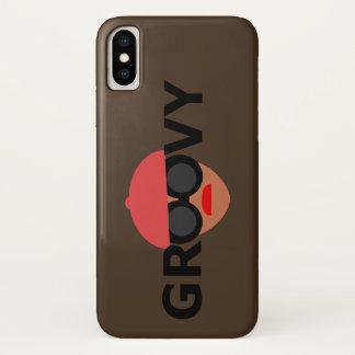 Capa Para iPhone X Menina Groovy da COR FEITA SOB ENCOMENDA