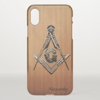 Capa Para iPhone X Mentes maçónicas (arborizadas)