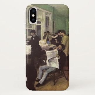 Capa Para iPhone X Mercado do algodão em Nova Orleães por Edgar Degas