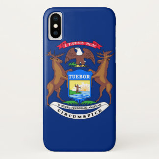 Capa Para iPhone X Michigan