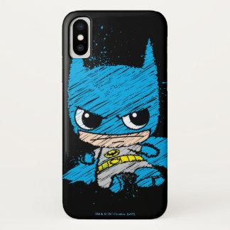 Capa Para iPhone X Mini esboço de Batman