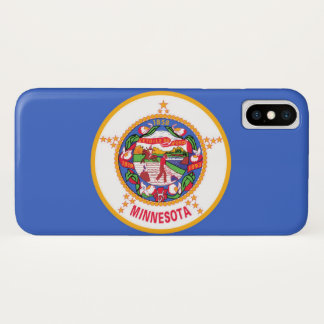 Capa Para iPhone X Minnesota