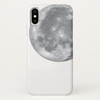 Capa Para iPhone X Miúdo da luz de lua