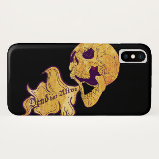 Capa Para iPhone X Morto mas vivo