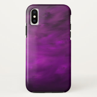 Capa Para iPhone X Movimento da lavanda - caso do iPhone X de Apple