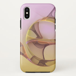 Capa Para iPhone X Movimentos abstratos, luz moderna - Fractal
