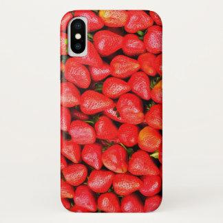 Capa Para iPhone X Muitas morangos!